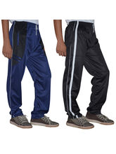 Delhi Seven Set Of Two Regular Fit Men's Trackpants -D7-TP-018-022, 28