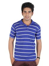 Polo T-Shirt With Stripes, design2, xl