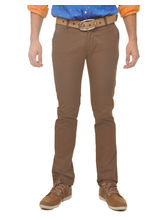 Fire On Cotton SolidCasual Trousers, 32, olive