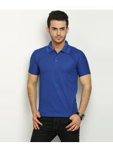 Fundoo T Men's Polo T-shirt, blue, xl