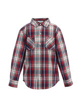 ShopperTree Check full Sleeves Shirt For Boys, multicolor, 11 12y