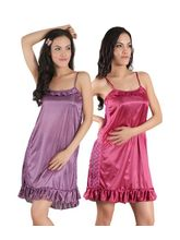 Klamotten Combo Of Two Nightwear, multicolor