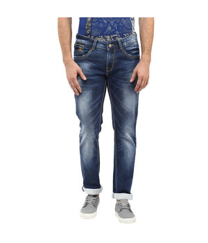 Skinny Low Rise Narrow Fit Jeans, 36,  blue