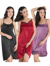Klamotten Combo Of Three Nightwear, multicolor