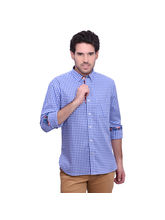 Punctuate Whiske Smart Casual Shirt, blue, xl