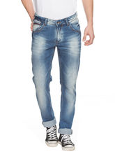 Slim Low Rise Narrow Fit Jeans, 28, mid blue