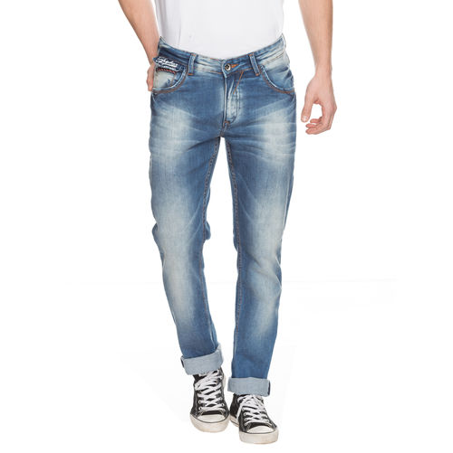 Spykar Slim Low Rise Narrow Fit Jeans
