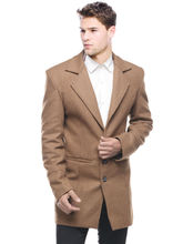 Sobre Estilo Premium Cotswool Men Overcoat - WV0013415, brown, xl