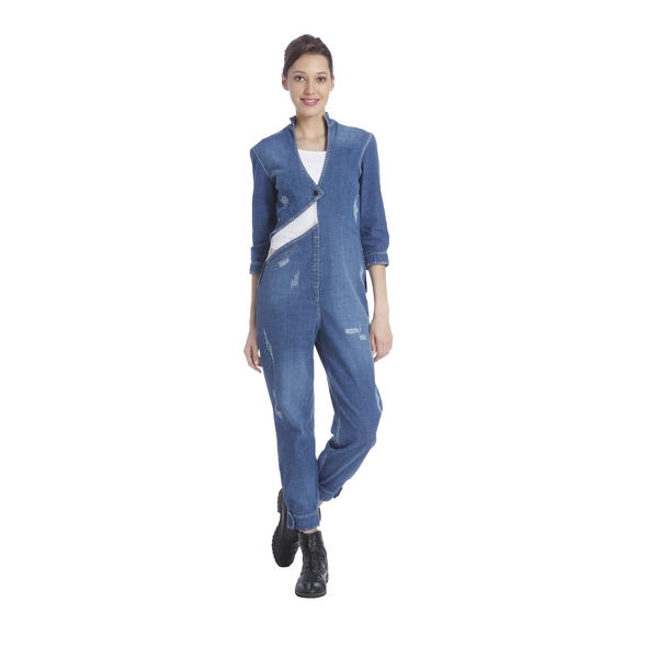 Kanika Goyal Denim Jumpsuit, s