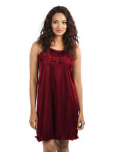 Klamotten Beautiful Nighty, maroon