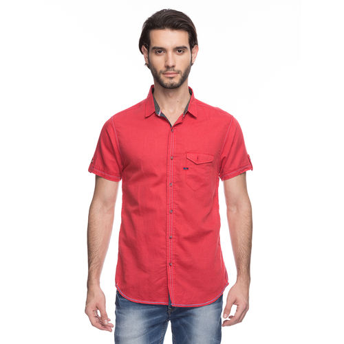 Solid Regular Slim Fit Shirt