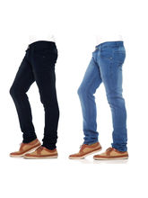 Stylox Set of 2 Men's Denim, 36, light blue and dark blue