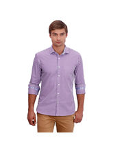 Punctuate Disruptive Business Casual Shirt, purple, xxl