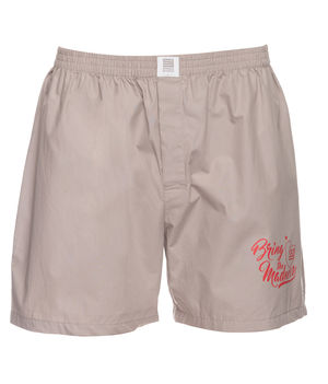 Boxers Shorts, l,  light grey
