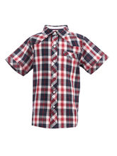 ShopperTree Check Half Sleeves Shirt For Boys, 3 4y, multicolor