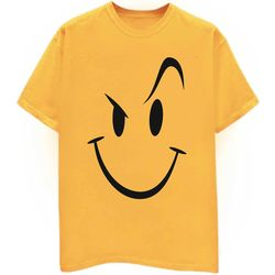 Naughty Smiley, xl, yellow