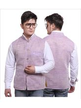 Sobre Estilo Stylish Men Summers Nehru Jacket - WV0012427, purple, m