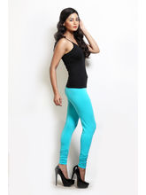 Design Classics Women Leggings - DCS099, l, turquise