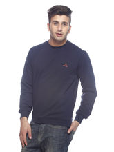 American Derby Sweatshirt - PL-SSL-1, navy blue, l