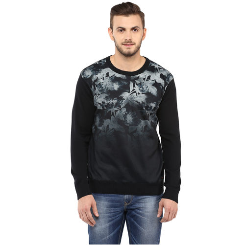Spykar Printed Round-Neck T-Shirt