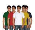 Stylox Pack of 5 Polo t-Shirts, l