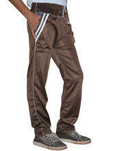 DS Polyester Men's Trackpant, brown, s