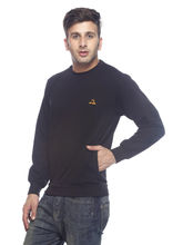 American Derby Sweatshirt - PL-SSL-3, black, l