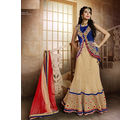 Mahotsav Party Wear Lehenga Saree, multicolor