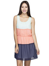 Oxolloxo Women's Stylish Dress, multicolor, l