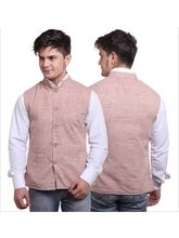 Sobre Estilo Stylish Dusty Men Summers Nehru Jacket - WV0012434, pink, m