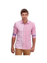 Punctuate Admix Smart Casual Shirts, pink, l