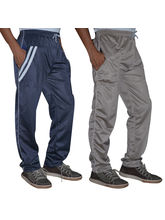 Delhi Seven Set Of Two Regular Fit Men's Trackpants -D7-TP-017-024, 28