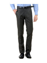 American-Elm Men's Basic Cotton Formal Trouser, 30, brown