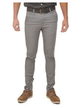 Fire On Cotton SolidCasual Trousers, 32, grey