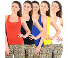 Mynte Women's Camisole - Pack Of 5, multicolor