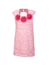 Lil Poppets Fitted Party Dress for Girls, pink, 6