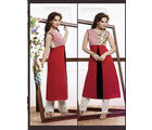 Fabliva Latest Heavy Designed Women's Stitched Kurtis, red
