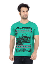 COD Jeans Cotton Printed T shirt for Men, green, xl