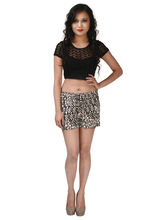 ShopperTree Printed Shorts - ST1387, xl, multicolor