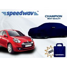 Speedwav Car Body Cover Renault Pulse - Champion (Best Quality),  royal blue