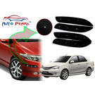 Auto Pearl - Premium Quality Car LED Blinking Bumper Protector for Toyota Etios - Set of 4Pcs, black