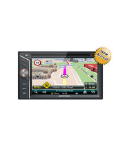MapMyIndia ICENAV 301 IN-Dash Car Stereo With DVD, Bluetooth,USB, SD Card & Aux Support, Navigation System
