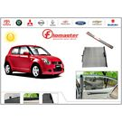 FloMaster- Car Sun Shades Protection AutoSun Up Car Curtains- Maruti Swift New,  grey