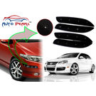 Auto Pearl - Premium Quality Car LED Blinking Bumper Protector for Volkswagen Jetta - Set of 4Pcs, black