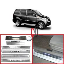 FloMaster Foot Steps Sill Plate for Mahindra XYLO (Set of 4)
