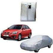 Metty Car Body Cover Hyundai Verna, standard-silver