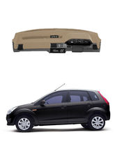Car Dashboard Cover for Ford Figo, beige