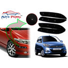 Auto Pearl - Premium Quality Car LED Blinking Bumper Protector for Hyundai i10 - Set of 4Pcs, black