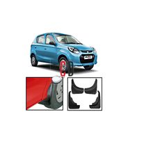 FloMaster Maruti Alto800 MudFlaps/Fender Guard O. E Type (Set of 4),  black