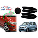 Auto Pearl - Premium Quality Car LED Blinking Bumper Protector for Maruti Suzuki WagonR New - Set of 4Pcs, black